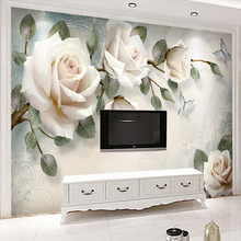 Customized 3d TV Background Wallpaper Simple Modern Living R