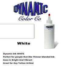 White Color Dynamic Pigment Kit Permanent Tattoo Ink Dynamic Tattoo Ink 250ML/ 12oz / 330g/Bottle Black Color Tattoo Pigment kit