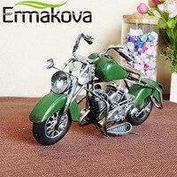 Hand Made Metal Handicrafts Crafts Vintage Retro Motorcycle Motor Model Prop Gift Collection Decoration Souvenir