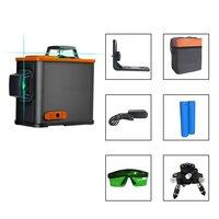 12 Lines Portable Blue 3D Laser Levels Leveling Instrument Self leveling Laser Leveler Vertical Horizontal Cross Laser