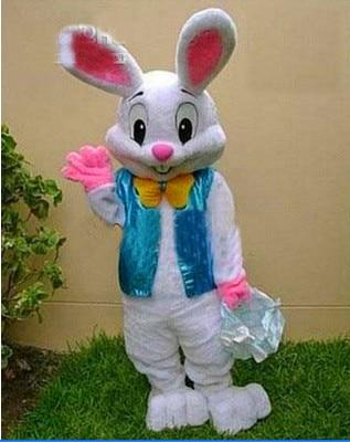 2015 nový halloween kostým Velikonoční zajíček kostým maskot Bugs Rabbit Hare Dospělý Efektní šaty Cartoon Suit Efektní šaty