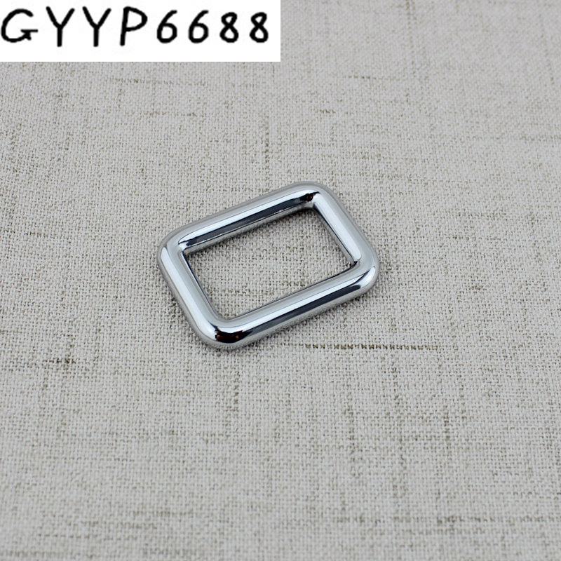 50pcs 6colors 25mm Metal Fitting Hardware Accessories Welded High Quality Closed Square Buckles