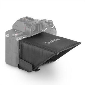 Image 3 - SmallRig Camera Screen Sun Shield Hood for Sony A7 A7II A7III A9 Series DSLR Camera/Camcorders Viewfinder Sunshade Hood 2215