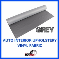 """Grey Auto Marine Headliner Floor Trunk Decorate Grey Upholstery Fabric Vinyl 139cm 54"""" Wide Can Be Wiped Clean