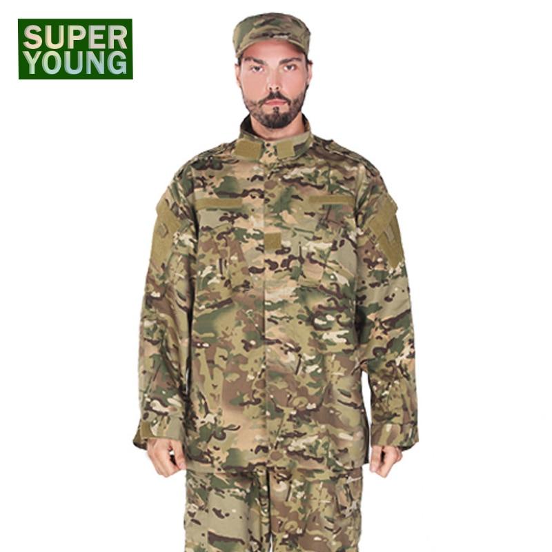 Hommes Combat chasse vêtements ensemble enfants garçons militaire tactique uniforme Ghillie Costumes enfants CS Camouflage Jungle Cosplay Costumes