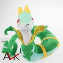 plush 22cm green snake