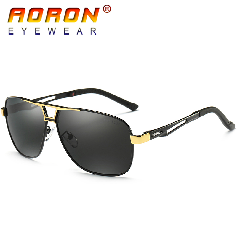 AORON Brand Original Polarized Sunglasses Goggles Men ...