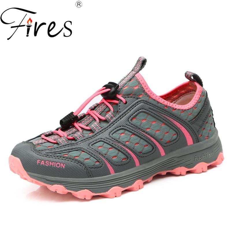 Pożary letnich kobiety piesze wycieczki buty lekkie buty