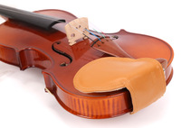 Violin Chinrest Sheepskin Pad Violin Neck Pale Cocoon Chinrest Pad Andean Style Melon