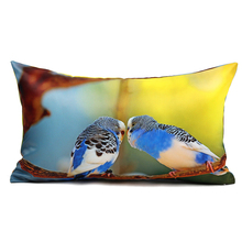 Colored Birds Sofa Decor Cushion Cover 30Cmx50Cm Throw Pillows Home Decor Luxury Cushion Covers Decorative Pillow Case