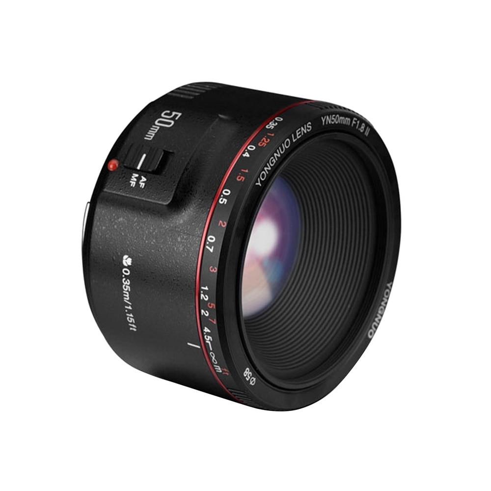 YONGNUO YN50mm F1.8 II Grande Ouverture Auto Focus Lens pour Canon Bokeh Effet Camera Lens pour Canon EOS 70D 5D2 5D3 600D DSLR