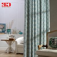 Cortinas geométricas modernas  cortinas de linho para sala de estar  para quarto  janela  sombra  tamanho personalizado
