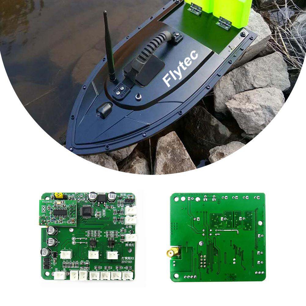 Rc Boat Parts 2011-5.010 Hull Circuit Boards Flytec 2011-5 Intelligent Remote Control Fishing Bait Boat Parts Circuit Board