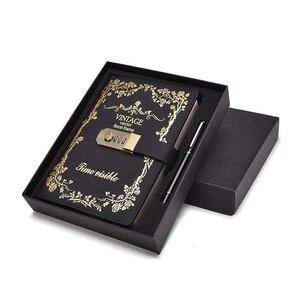 Image 3 - Ретро книга с паролем, креативный ученический дневник, блокнот, ручная книга, канцелярский журнал