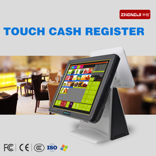 2015 cheap POS all-in-one touchscreen computer 15 inch Tablet PC with Intel Celeron 1037u 1.8Ghz 4G RAM 32G SSD