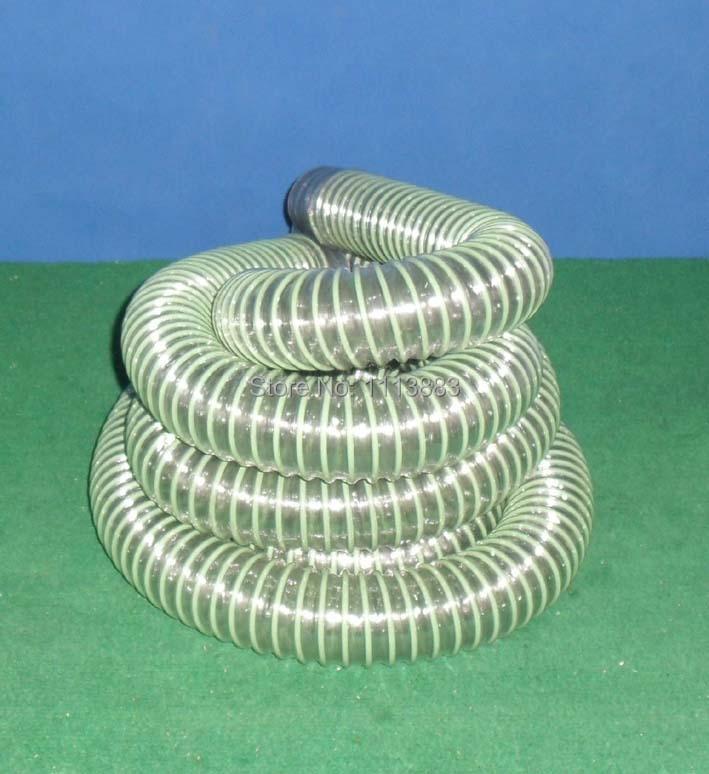 2m-2.2m Transparent Vacuum Hose, 50-55mm In Diameter
