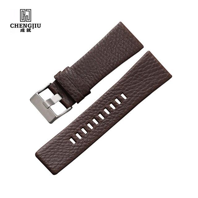 4f1eb8e95e06 Universal cuero venda de reloj para reloj diesel correa de reloj para  dz7313 22