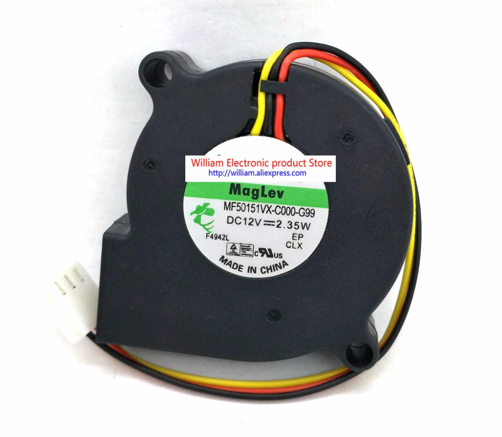 medium resolution of new original mf50151vx c000 g99 12v 2 35w 3 wires tachometer signal computer cooling fan fonsoning in fans cooling from computer office on