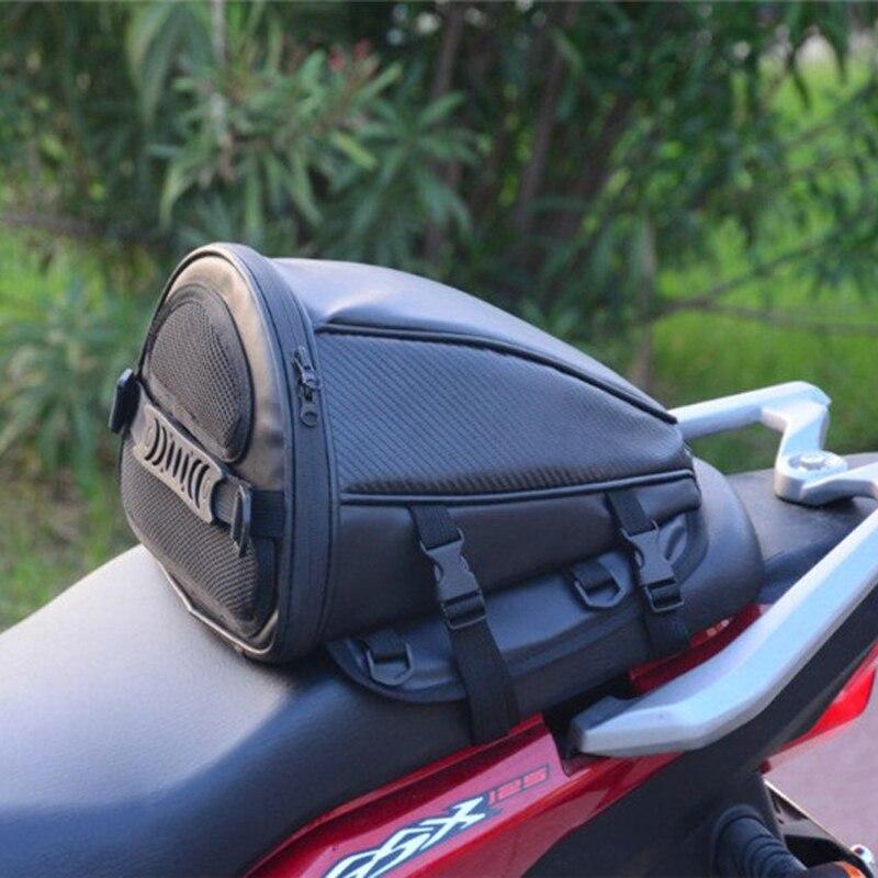 Top Leather Saddle Bags Motorcycle Bag Leg Waterproof Moto Tank Bag Mochila Moto Pierna Bolsa Motocicleta Racing Oil Tank