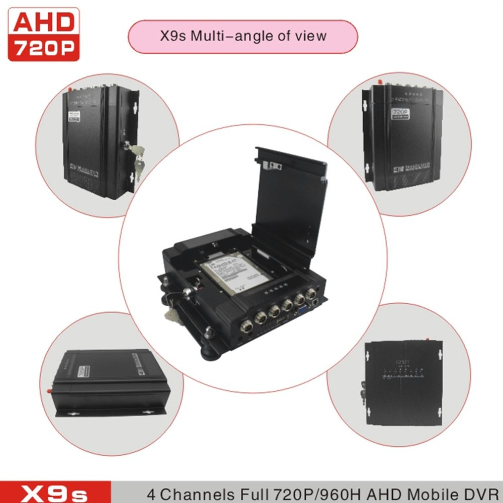 cctv dvr 4ch full ahd real rime recorder mobile dvr 720P ahd dvr for bus/car/vehicle/truck with wifi funciton цены