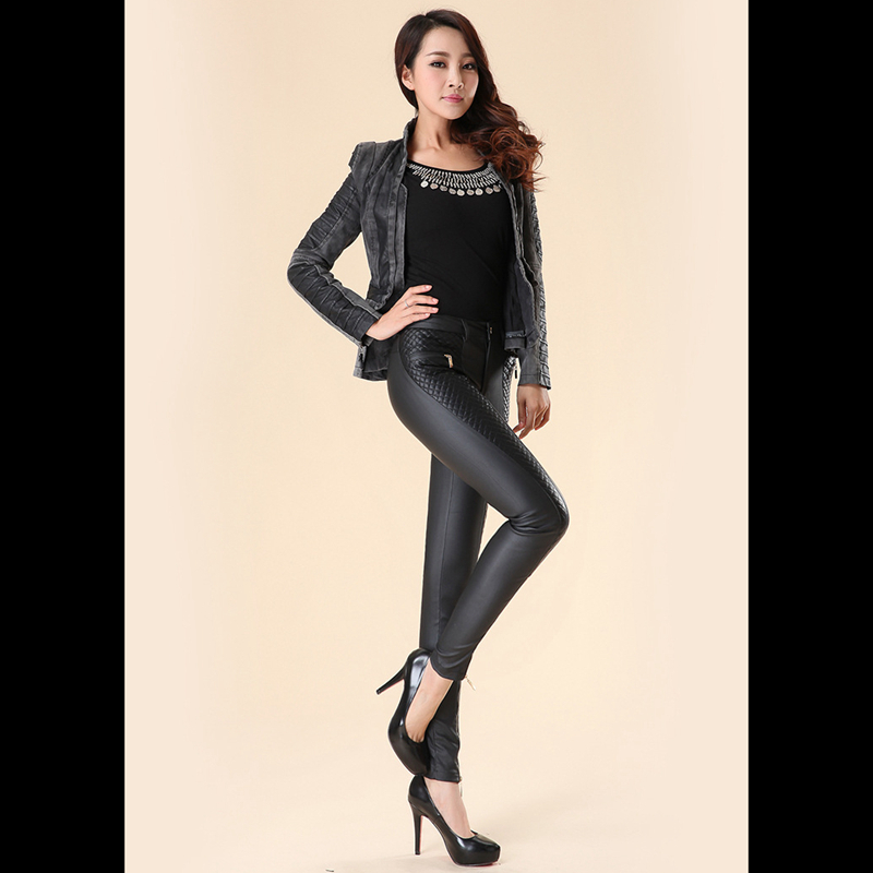 Aliexpress.com : Buy Fashion new women leather pants PU legging ...