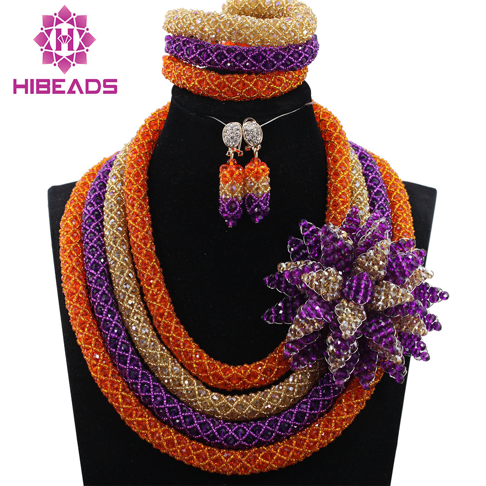 Beautiful Mix Color African Beads  Jewelry Set Indian Bridal Jewelry Set Free Shipping QW1040Beautiful Mix Color African Beads  Jewelry Set Indian Bridal Jewelry Set Free Shipping QW1040