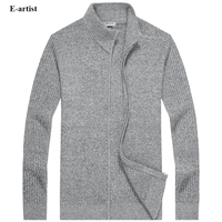E Artist Men S O Neck Slim Fit Casual Knitted Sweaters Cargidans Male Knitwear Sweatercoats For