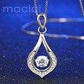 Новый Изысканный 925 Серебряные Ювелирные Изделия Белый Позолоченный Танец Камень Капли Воды Женский Свадебный моделируется алмазов ювелирные изделия (JA258)