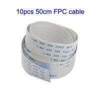 10Pcs 50cm Ribbon FPC Cable for Raspberry Pi Camera 15Pin Flat Wire Cable for Raspberry pi