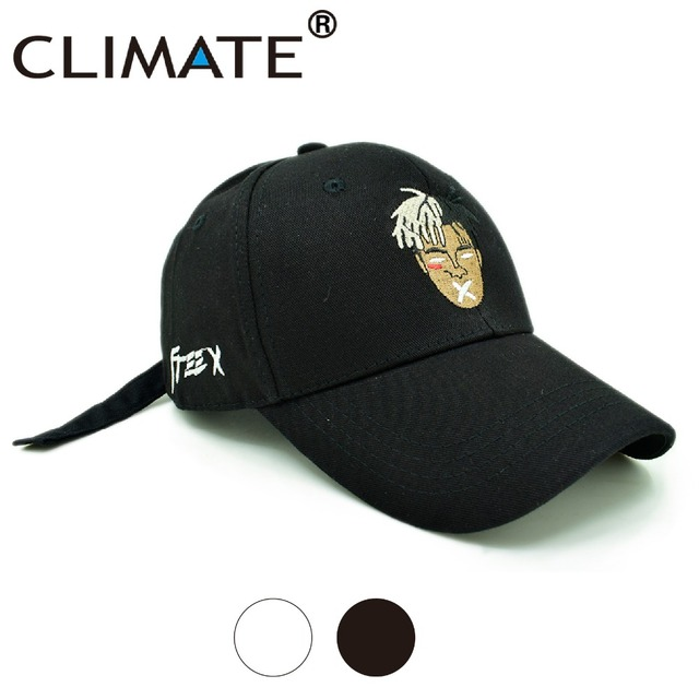 CLIMATE xxxtentacion Baseball Caps Free X Hats Hot US Rapper Dreadlocks  Baseball Caps Hip Hop Dad faf40cd9413