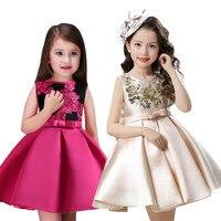 Girl Dress Children Clothing Wedding Party Girls Dresses First Birthday Clothes Newborn Princess Infant Dress Girl