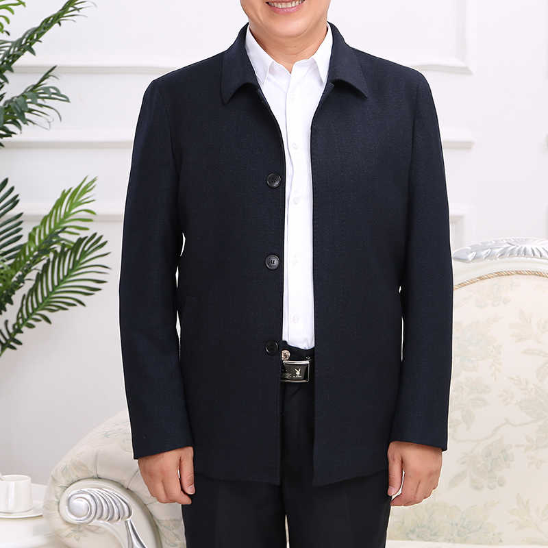 Mu Yuan Yang мужская куртка высокого качества Повседневная куртка Модные мужские пальто сплошной цвет мужской куртки пальто три цвета выбор