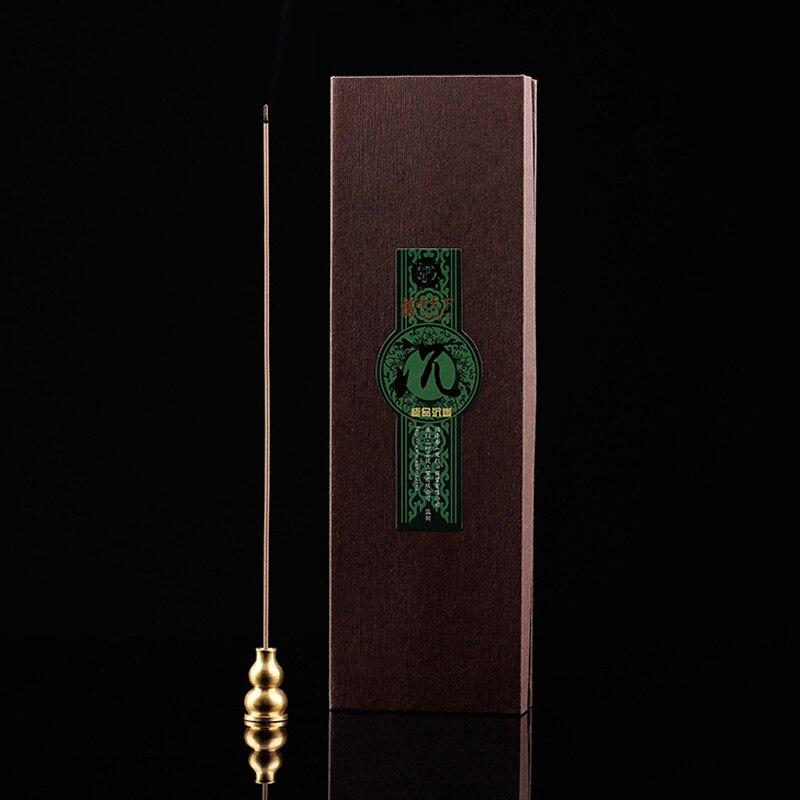 Palitos de incienso Natural indio de madera de Agarwood peso neto 80g fragancias aromáticas palillo de incienso