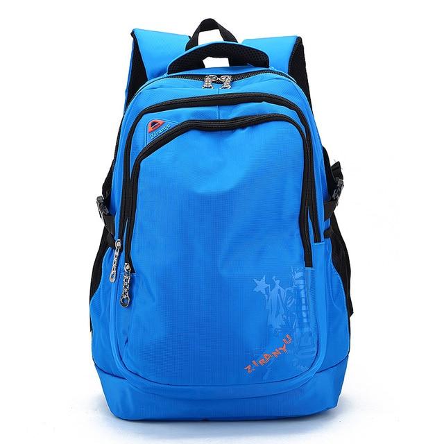 c96ba61a945 Nieuwe Schooltassen voor Tieners Jongens Meisjes satchel Nylon boekentas Schooltas  kids mannen vrouwen reizen rugzak Mochila