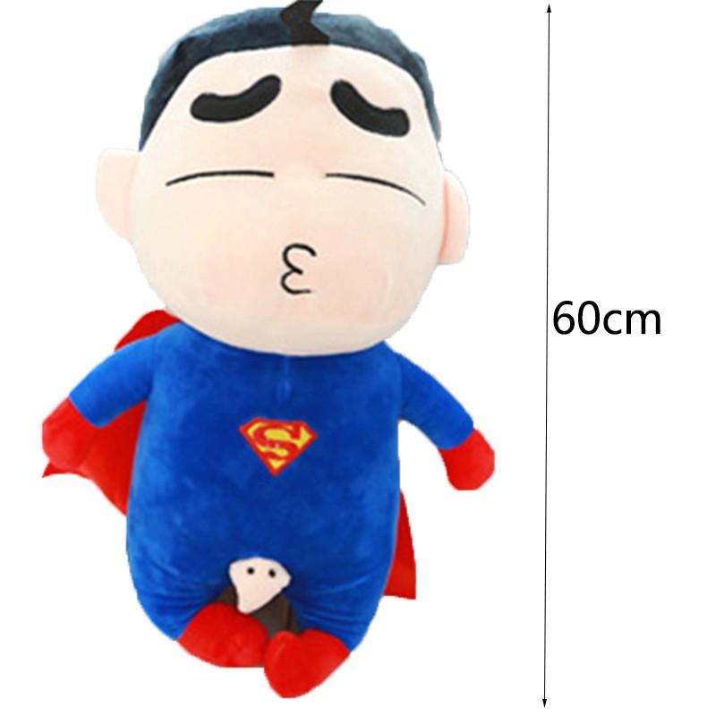 60-Cm-Toy-Doll-Avengers-Captain-America-Superman-Spider-man-Batman-Plush-Toys-Dolls-Soft-Cute-Crayon-Shin-chan-Cosplay-Japan-Cartoon-TY0019 (1)