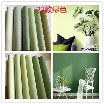 Green wallpaper, wallpaper, fresh green, pure color, non-woven fabrics, silk, green wallpaper, green garden, Retro Green фото