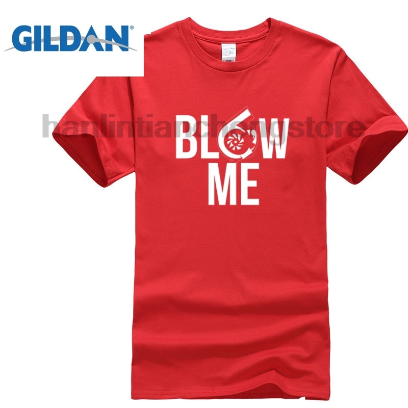 GILDAN Blow Me Turbo T-Shirt O-Neck Short Sleeves Summer High Quality Casual Tops Tees T Shirt