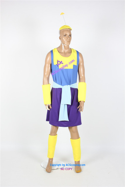 emperors new groove kronk cosplay costume