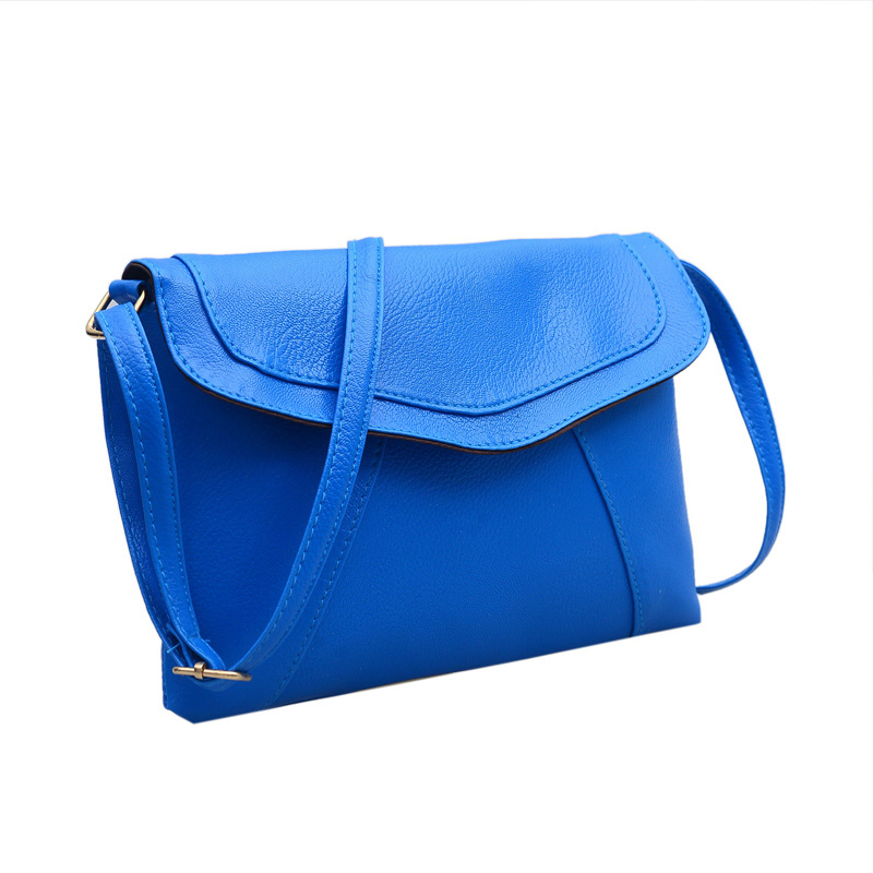 Women Shoulder Bag PU Leather Handbag Purse Clutch Lady Crossbody Messenger Bags New women handbags new fashion pu leather party clutch bags soft fold over phone purse lady shoulder bag superfine messenger bag