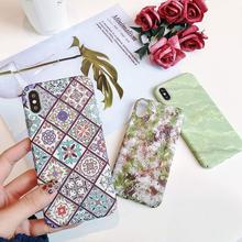 KISSCASE Patterned Case For Samsung A30 A50 A6 A7 A8 A9 2018 A5 2017 Luminous PC Back Galaxy S10 S9 S8 Funda