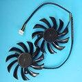 Новый Оригинальный Охлаждающий Вентилятор Cpu Для MSI R6850 R6870 460GTX КЛАССЕ 560GTX R6790 570GTX 580GTX PLD08010S12HH