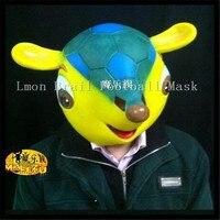 1pc Latex Squirrel Face Mask 2014 Brazil World Cup Mascot Halloween Ball Villain Jokes Adult Child