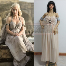 A Song of Ice and Fire A Game of Thrones Cosplay Costume Of Daenerys Targaryen (Khaleesi) Cosplay Costume