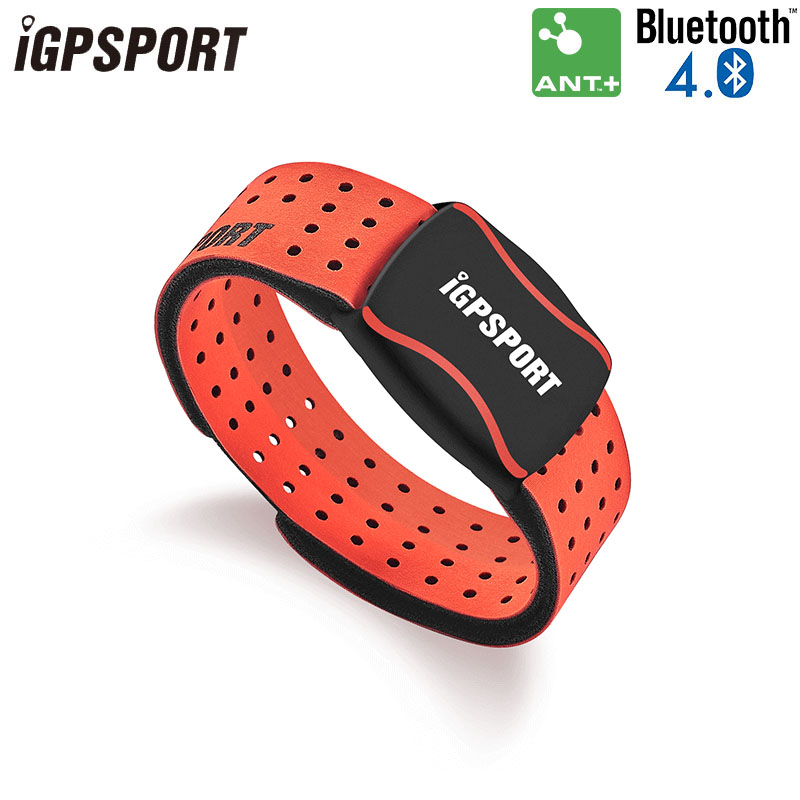 IGPSPORT Cycling Heart Rate Monitor HR 60 ANT+ BLE Connect Bike Computer Smart Phone IPX7 Rechargeable Sport Sensor Equipment