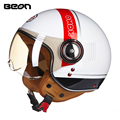 Brand New ECE Motorcycle Helmet Chopper 3/4 Open Face Vintage Helmet 110DY Moto Casque Casco motocicleta Capacete Unisex helmets