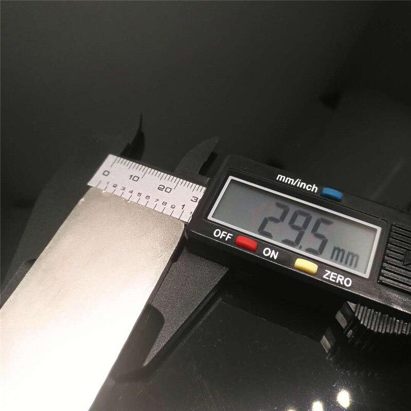 Zion 5 pz 60x30x10mm grande magnete super forte potente blocco N35 della terra rara di NdFeB potente bar magnete al neodimio 60mm x 30mm x 10mmZion 5 pz 60x30x10mm grande magnete super forte potente blocco N35 della terra rara di NdFeB potente bar magnete al neodimio 60mm x 30mm x 10mm