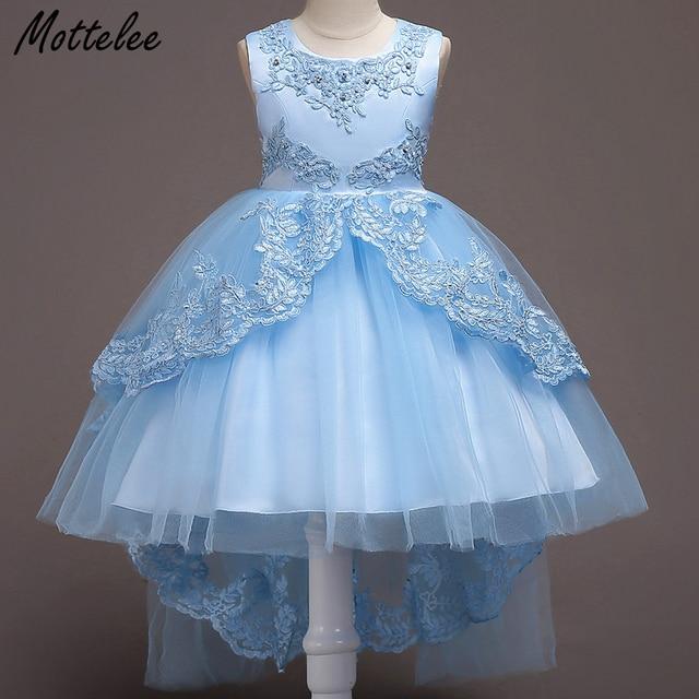 Mottelee Girls Mermaid Dress Jewelry Kids Birthday Party Dresses ...