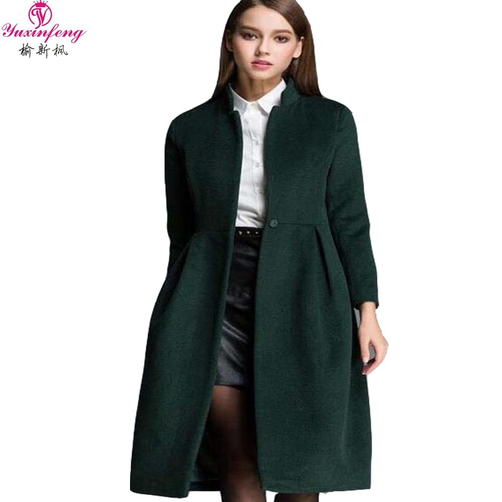 Online Buy Wholesale green wool coats women from China green wool