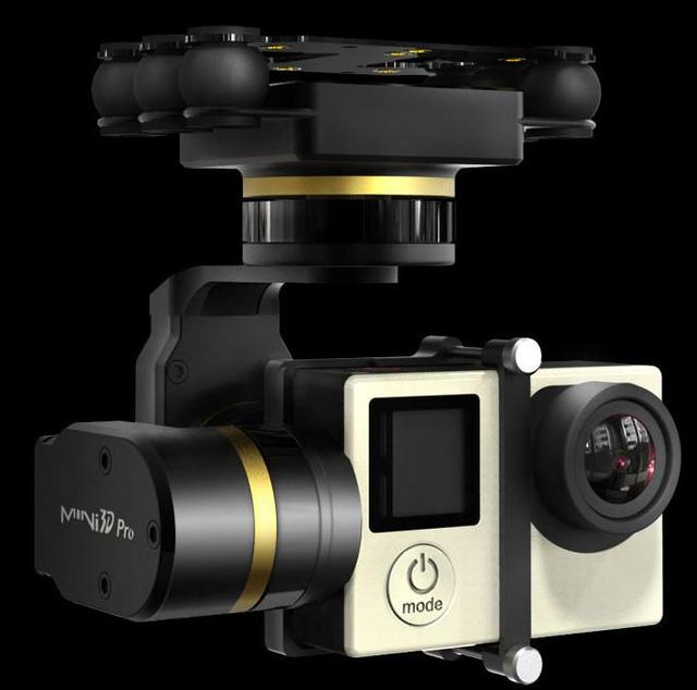 new arrival! feiyu fy mini 3d pro gimbal for aircrafts helicopters drones newest version