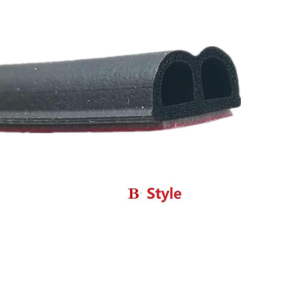 2 metry D Z P B typ 3M samoprzylepna gumowa uszczelka samochodowa izolacja akustyczna uszczelka do wykończenia Z wycięciami izolacja akustyczna taśma uszczelniająca do drzwi samochodowych